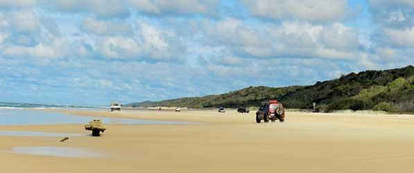 East Coast 4WD hire -Hervey Bay 4WD Drive