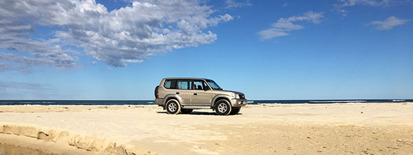 East Coast 4WD Hire - Fraser Coast 4WD hire - Rainbow Beach - Hervey Bay