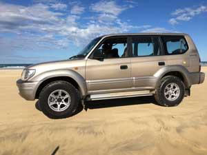 East Coast 4WD - Toyota Prado Fleet