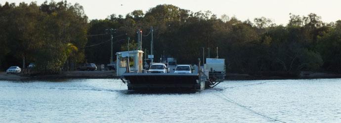 Noosa North Shore Ferry - East Coast 4WD Hire